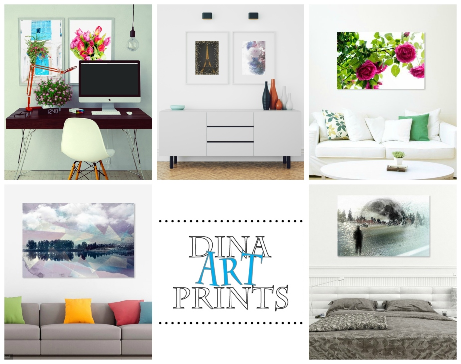 Dina Art Prints Collage