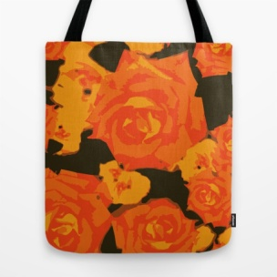 abstract-orange-roses-bags